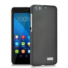 Handyhülle Hülle Kunststoff Schutzhülle Matt für Huawei Honor 4C Grau