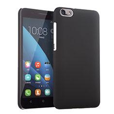 Handyhülle Hülle Kunststoff Schutzhülle Matt für Huawei Honor 4X Schwarz