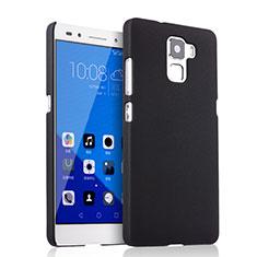 Handyhülle Hülle Kunststoff Schutzhülle Matt für Huawei Honor 7 Dual SIM Schwarz