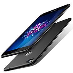 Handyhülle Hülle Kunststoff Schutzhülle Matt für Huawei Honor 8 Lite Schwarz