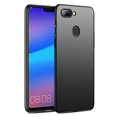Handyhülle Hülle Kunststoff Schutzhülle Matt für Huawei Honor 9i Schwarz