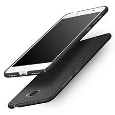 Handyhülle Hülle Kunststoff Schutzhülle Matt für Huawei Honor Play 5 Schwarz