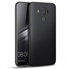 Handyhülle Hülle Kunststoff Schutzhülle Matt für Huawei Mate 10 Pro Schwarz