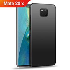 Handyhülle Hülle Kunststoff Schutzhülle Matt für Huawei Mate 20 X 5G Schwarz