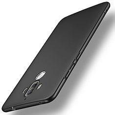 Handyhülle Hülle Kunststoff Schutzhülle Matt für Huawei Mate 9 Schwarz