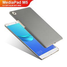 Handyhülle Hülle Kunststoff Schutzhülle Matt für Huawei MediaPad M5 8.4 SHT-AL09 SHT-W09 Grau