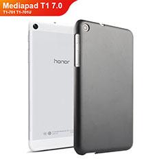 Handyhülle Hülle Kunststoff Schutzhülle Matt für Huawei Mediapad T1 7.0 T1-701 T1-701U Schwarz