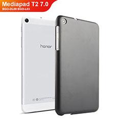 Handyhülle Hülle Kunststoff Schutzhülle Matt für Huawei Mediapad T2 7.0 BGO-DL09 BGO-L03 Schwarz