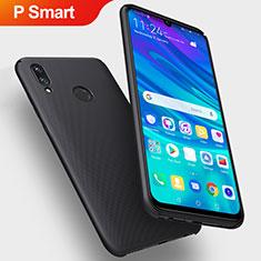 Handyhülle Hülle Kunststoff Schutzhülle Matt für Huawei P Smart (2019) Schwarz