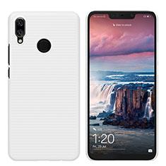 Handyhülle Hülle Kunststoff Schutzhülle Matt für Huawei P Smart+ Plus Weiß