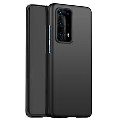 Handyhülle Hülle Kunststoff Schutzhülle Matt für Huawei P40 Pro+ Plus Schwarz