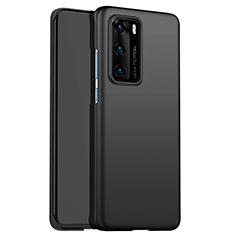 Handyhülle Hülle Kunststoff Schutzhülle Matt für Huawei P40 Schwarz