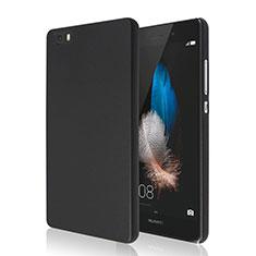 Handyhülle Hülle Kunststoff Schutzhülle Matt für Huawei P8 Lite Schwarz
