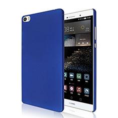 Handyhülle Hülle Kunststoff Schutzhülle Matt für Huawei P8 Max Blau
