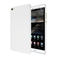 Handyhülle Hülle Kunststoff Schutzhülle Matt für Huawei P8 Max Weiß