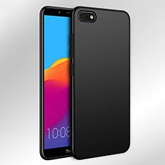 Handyhülle Hülle Kunststoff Schutzhülle Matt für Huawei Y5 (2018) Schwarz