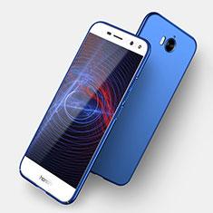 Handyhülle Hülle Kunststoff Schutzhülle Matt für Huawei Y6 (2017) Blau