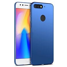 Handyhülle Hülle Kunststoff Schutzhülle Matt für Huawei Y6 (2018) Blau