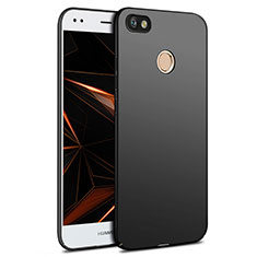 Handyhülle Hülle Kunststoff Schutzhülle Matt für Huawei Y6 Pro (2017) Schwarz