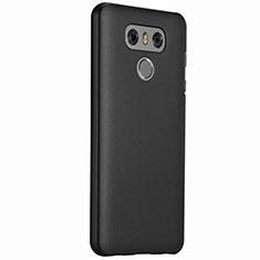 Handyhülle Hülle Kunststoff Schutzhülle Matt für LG G6 Schwarz