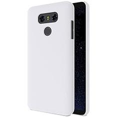 Handyhülle Hülle Kunststoff Schutzhülle Matt für LG G6 Weiß