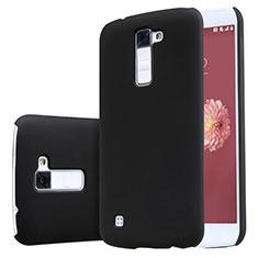 Handyhülle Hülle Kunststoff Schutzhülle Matt für LG K10 Schwarz