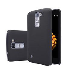 Handyhülle Hülle Kunststoff Schutzhülle Matt für LG K7 Schwarz
