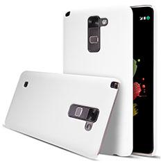 Handyhülle Hülle Kunststoff Schutzhülle Matt für LG Stylus 2 Plus Weiß