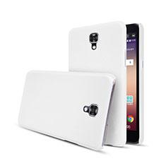Handyhülle Hülle Kunststoff Schutzhülle Matt für LG X Screen Weiß