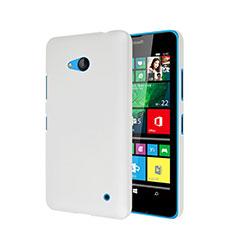 Handyhülle Hülle Kunststoff Schutzhülle Matt für Microsoft Lumia 640 Weiß