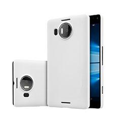 Handyhülle Hülle Kunststoff Schutzhülle Matt für Microsoft Lumia 950 XL Weiß