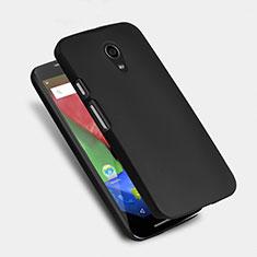 Handyhülle Hülle Kunststoff Schutzhülle Matt für Motorola Moto G (2nd Gen) Schwarz