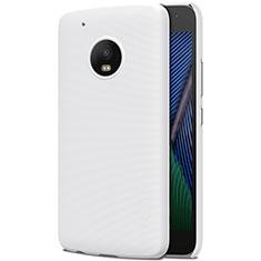 Handyhülle Hülle Kunststoff Schutzhülle Matt für Motorola Moto G5 Plus Weiß