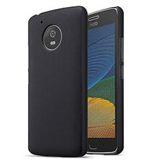 Handyhülle Hülle Kunststoff Schutzhülle Matt für Motorola Moto G5 Schwarz