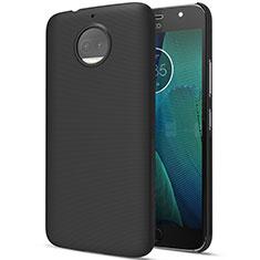 Handyhülle Hülle Kunststoff Schutzhülle Matt für Motorola Moto G5S Plus Schwarz