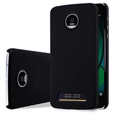 Handyhülle Hülle Kunststoff Schutzhülle Matt für Motorola Moto Z Play Schwarz