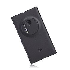 Handyhülle Hülle Kunststoff Schutzhülle Matt für Nokia Lumia 1020 Schwarz