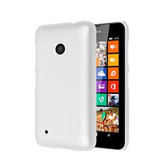 Handyhülle Hülle Kunststoff Schutzhülle Matt für Nokia Lumia 530 Weiß