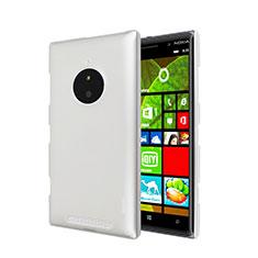 Handyhülle Hülle Kunststoff Schutzhülle Matt für Nokia Lumia 830 Weiß