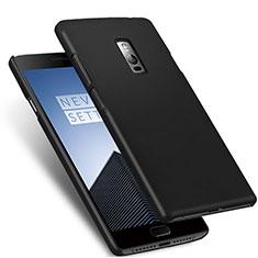 Handyhülle Hülle Kunststoff Schutzhülle Matt für OnePlus 2 Schwarz