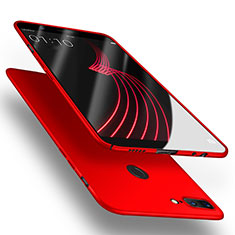 Handyhülle Hülle Kunststoff Schutzhülle Matt für OnePlus 5T A5010 Rot