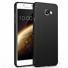 Handyhülle Hülle Kunststoff Schutzhülle Matt für Samsung Galaxy A7 (2017) A720F Schwarz