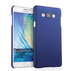 Handyhülle Hülle Kunststoff Schutzhülle Matt für Samsung Galaxy A7 SM-A700 Blau