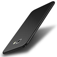 Handyhülle Hülle Kunststoff Schutzhülle Matt für Samsung Galaxy A8 (2016) A8100 A810F Schwarz