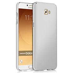 Handyhülle Hülle Kunststoff Schutzhülle Matt für Samsung Galaxy C9 Pro C9000 Weiß