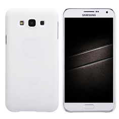 Handyhülle Hülle Kunststoff Schutzhülle Matt für Samsung Galaxy E7 SM-E700 E7000 Weiß