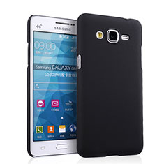 Handyhülle Hülle Kunststoff Schutzhülle Matt für Samsung Galaxy Grand Prime 4G G531F Duos TV Schwarz
