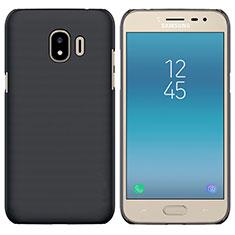 Handyhülle Hülle Kunststoff Schutzhülle Matt für Samsung Galaxy J2 Pro (2018) J250F Schwarz