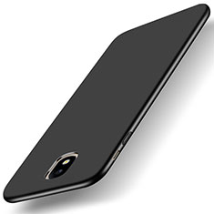 Handyhülle Hülle Kunststoff Schutzhülle Matt für Samsung Galaxy J5 (2017) SM-J750F Schwarz