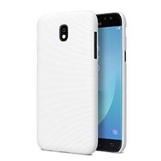 Handyhülle Hülle Kunststoff Schutzhülle Matt für Samsung Galaxy J5 Pro (2017) J530Y Weiß